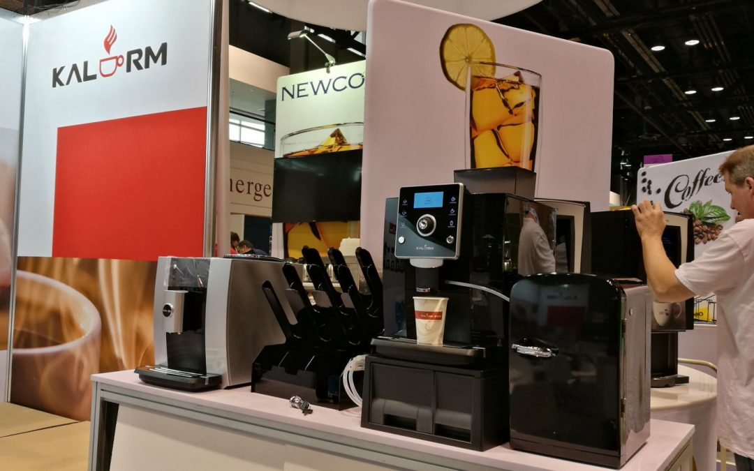 Kalerm coffee machines shines at NRA show 2019